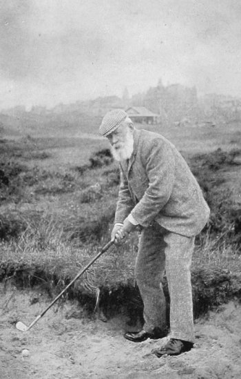 Old Photograph Tom Morris St Andrews Scotland